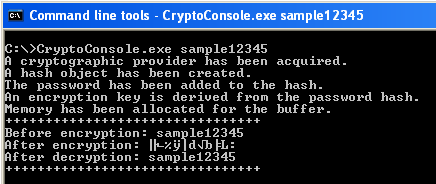 askyb com » C++ Encryption and Decryption using Microsoft CryptoAPI